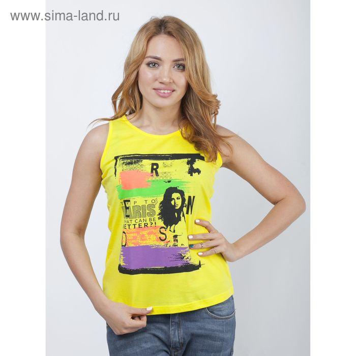 Топ женский Р808115 лимон, рост 158-164 см, р-р 44