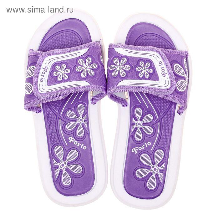 Туфли пляжные детские Forio, цвет фиолетовый, размер 35 (арт. 238-5714)