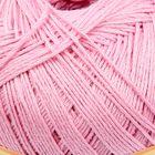 "Пряжа ""Лора"" 50% хлопок, 50% вискоза, 425м/100гр (716 розовый)"