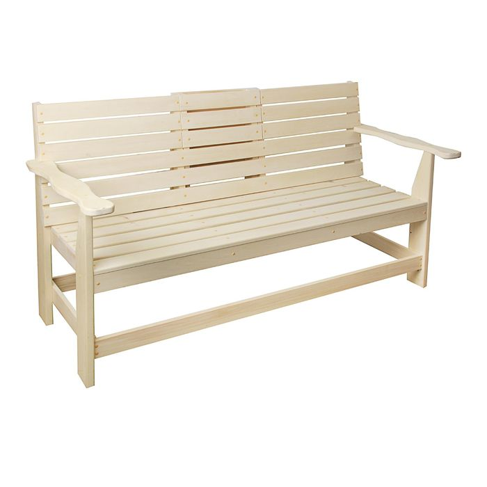 Скамейка с выдвижным столиком 140х60х90 см