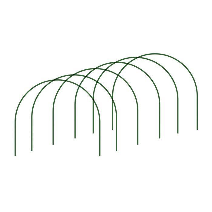 Комплект дуг парниковых, дуга 2 м, 6 шт., d = 10 мм, «Дельта»