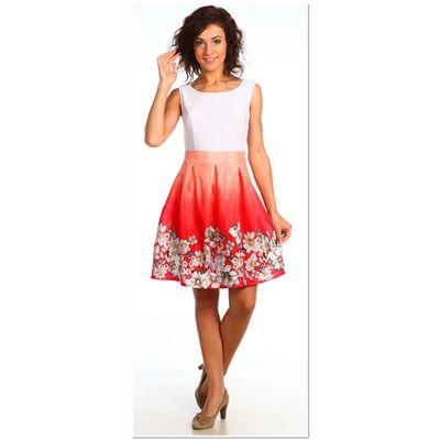Платье женское 925 Прованс коралловый, р-р 44