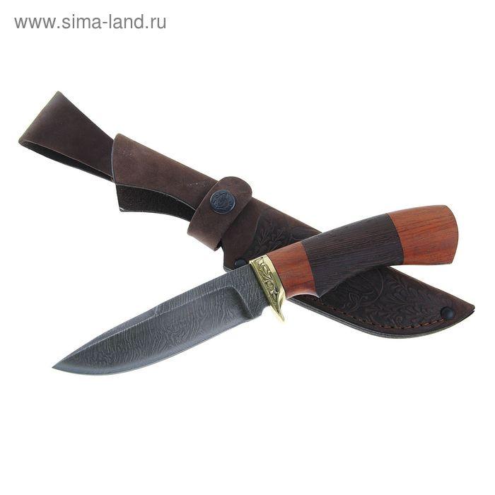 """Нож нескладной """"Старк"""" СА-3, г.Павлово, дамасская сталь, рукоять-ЦПД+1 литье"""