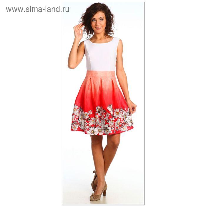 Платье женское 925 Прованс коралловый, р-р 46