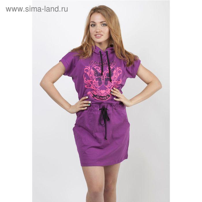 Платье женское 777 Шайн сиреневый, р-р 50