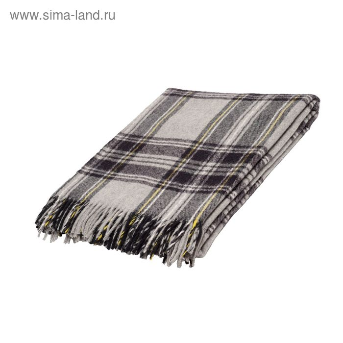 Плед Шотландия шерстяной, 100% овечья шерсть  170*200 см, цв.43