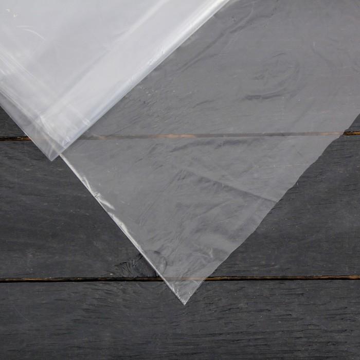 Плёнка полиэтиленовая, толщина 30 мкм, 3 × 10 м, рукав, прозрачная, 1 сорт, ГОСТ 10354-82