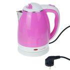 "Электрочайник ""LuazON"" LPK-1808, 1500W, 1,8л, розовый"
