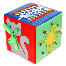 Кубик развивающий «Пальчики», МИКС