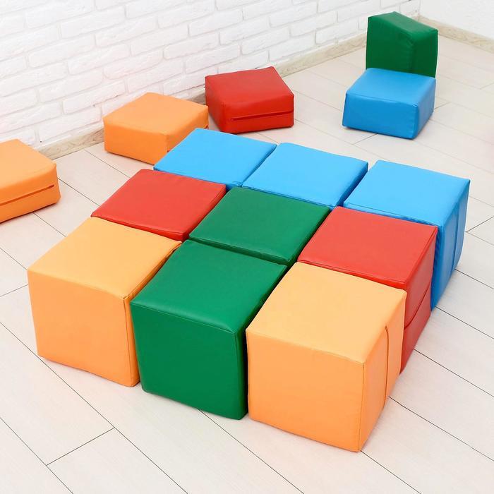 Мягкий модуль «Кубики», МИКС - фото 1636013