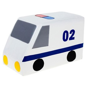 Мягкий модуль «Машина полицейская», МИКС