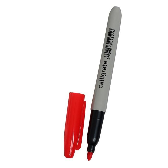 Маркер перманентный 3.0 мм красный CALLIGRATA 1101