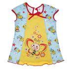 Платье детское, рост 74 см (48), цвет МИКС 683-15_М
