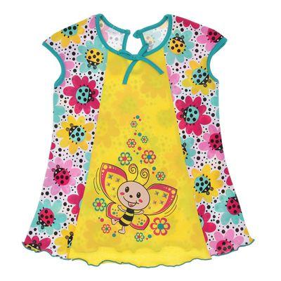 Платье детское, рост 92 см (56), цвет МИКС 683-15_М