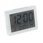 Часы-будильник LuazON LB-04, LED подсветка, дата, час, температура, влажность, белые
