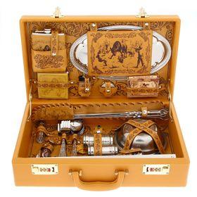 Набор в чемодане 'Охота на лося' 43 предмета Ош