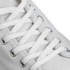 Шнурки для обуви плоские, 7мм, 150см, цвет белый