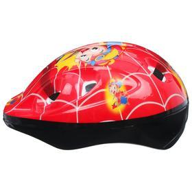 Шлем защитный OT-502 детский, размер S (52-54 см), цвет красный - фото 7393001