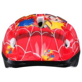 Шлем защитный OT-502 детский, размер S (52-54 см), цвет красный - фото 7393002
