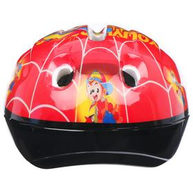 Шлем защитный OT-502 детский, размер S (52-54 см), цвет красный - фото 7393003