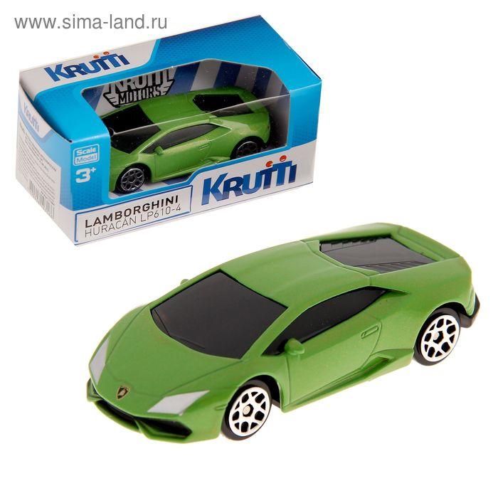Машинка металлическая Krutti MCL-3-015 511004  МИКС