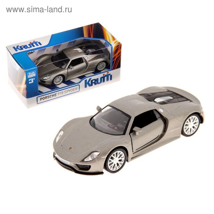 Машинка металлическая Porsche 918 Spyder, МИКС