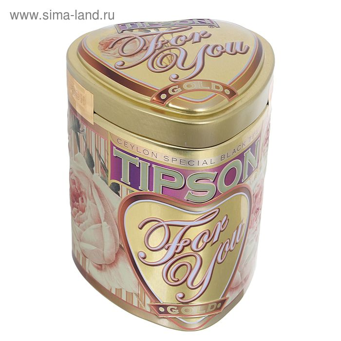 "Чай черный Tipson ""For You"", Gold, 75 г"