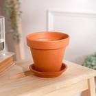 """Цветочный горшок """"Стандарт"""", 0.6 л - фото 1693556"""