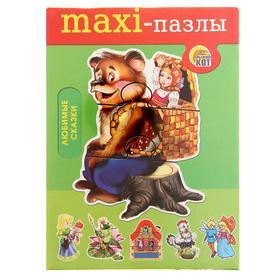 Пазл «Любимые сказки: Маша и Медведь»