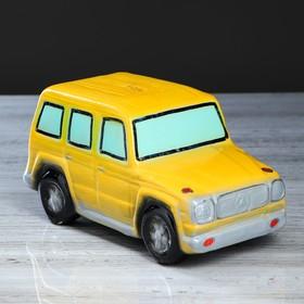 "Копилка ""Гелик"", глянец, цвет жёлтый, 12 см"