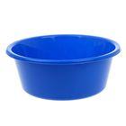 """Таз пластиковый 4 л """"Кливия"""", цвет голубой"""