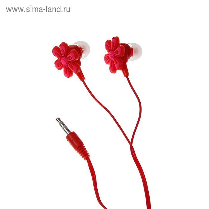 """Наушники Luazon LV-105 """"Цветок"""", вакуумные"""