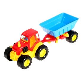 Трактор ACTIVE, с прицепом