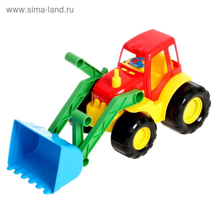 Трактор ACTIVE с ковшом