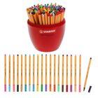 Ручка капиллярная Stabilo point 88 0.4 мм МИКС 47 цветов в керамическом горшке 88/150-2
