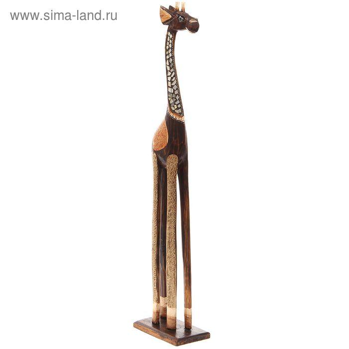 """Статуэтка интерьерная """"Жираф"""" 80cм."""