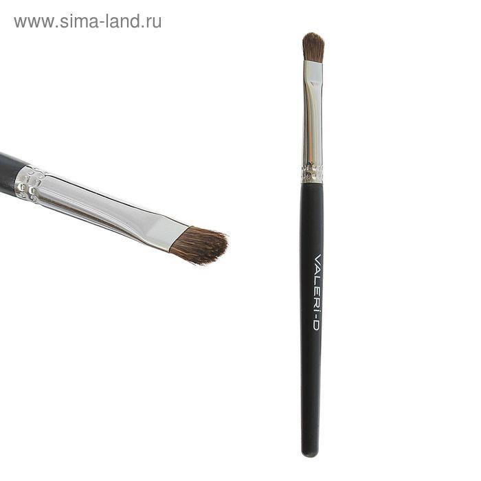 """Кисть для макияжа """"Пони"""" овальная, на короткой ручке"""