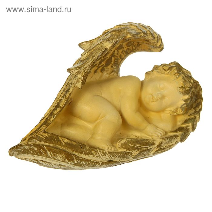 """Статуэтка """"Ангел в крыле"""" малый10 × 20 × 12 см."""