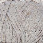 """Пряжа """"Lino"""" 25% лен, 75% вискоза, 170м/50гр (500 серый)"""