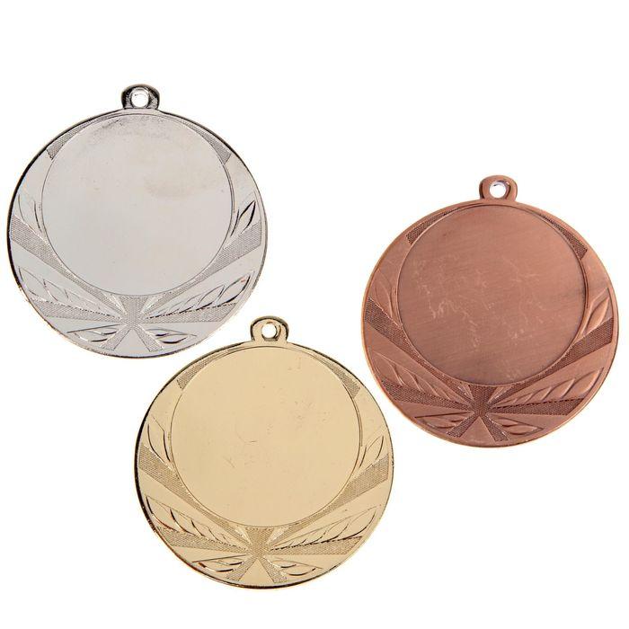 Медаль под нанесение, бронза
