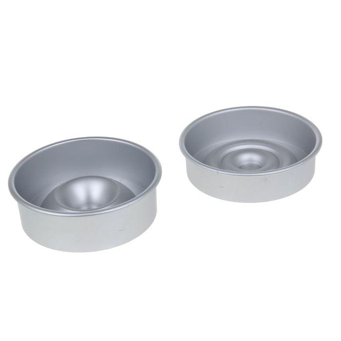 Набор форм для выпечки с сердцевиной 14x6 см, 2 шт - фото 308044044