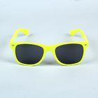 """Очки солнцезащитные детские """"Wayfarer"""", оправа жёлтая с овалами, линзы чёрные, 14 × 4.5 × 3 см"""