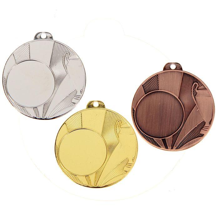 Медаль под нанесение 036, бронза