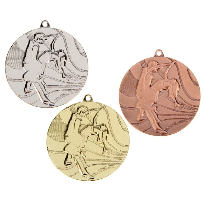 """Медаль тематическая 075 """"Танцы"""", серебро"""