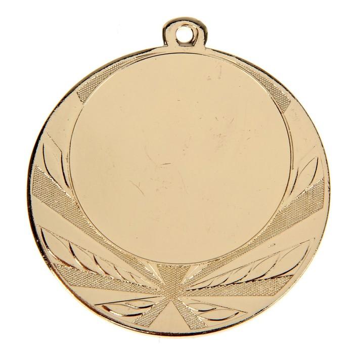 Медаль под нанесение, d=7, золото