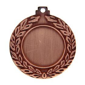 Медаль под нанесение, бронза, d=4,5 см
