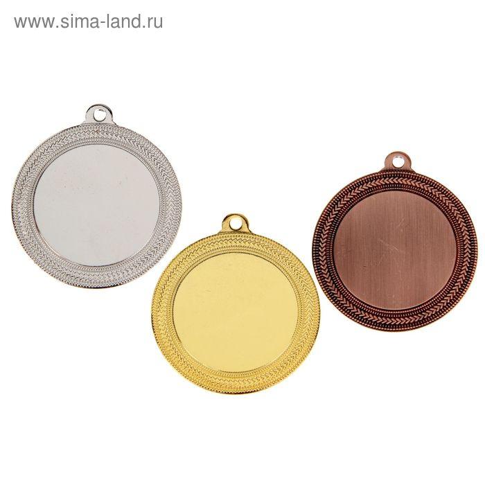 Медаль под нанесение 035, d=5,5, золото