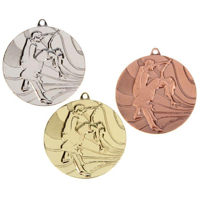 """Медаль тематическая 075 """"Танцы"""", золото"""