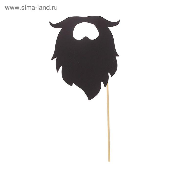 "Фотобутафория на палочке ""Борода"""