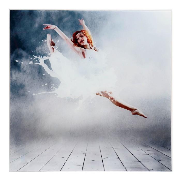 "Картина на стекле ""Брызги танца"""